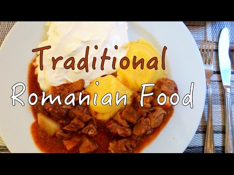 VIDEO: Traditional Romanian Food in Brasov