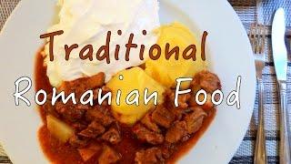 Brasov Romania  city photo : Traditional Romanian Food in Brasov, Romania