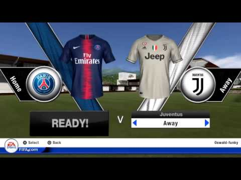 FIFA 19 PS VITA GAMEPLAY PSG-JUV