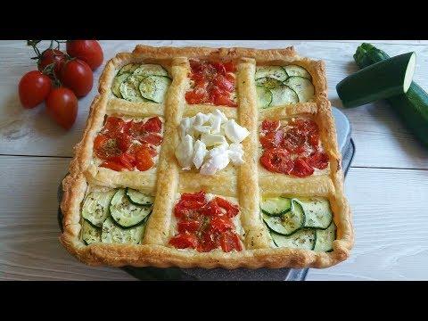 scacchiera torta salata - ricetta light