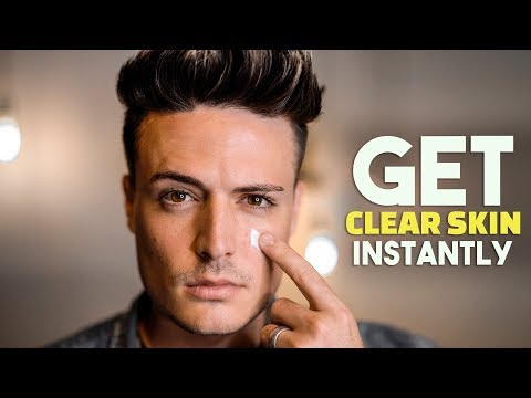 Mens hairstyles - Get Clear Skin Instantly  How to Stop Acne, Pimples & Blackheads  BluMaan 2018