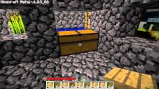 Minecraft - Wood Dispenser