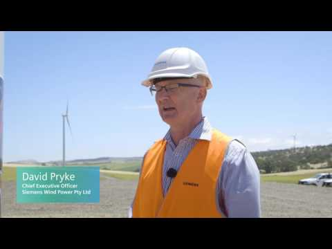 Unveiling of Aboriginal artwork at Hornsdale wind farm