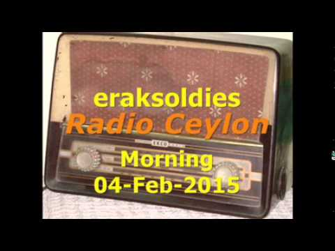 Video Radio Ceylon 04-02-2015~Wednesday Morning~02 Purani Filmon Ka Sangeet download in MP3, 3GP, MP4, WEBM, AVI, FLV January 2017
