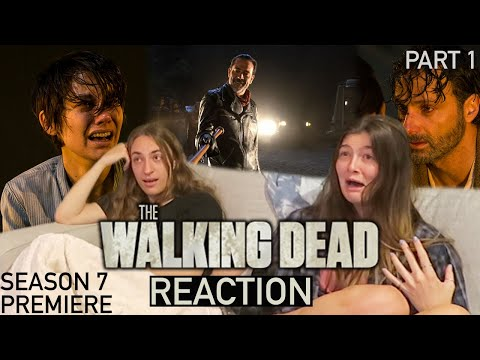 The Walking Dead - 7x1 The Day Will Come When You Won't Be  - Reaction (Part 1)