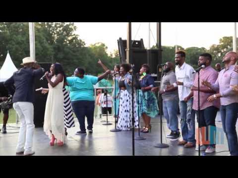 Ricky Dillard - Grace (@Radio 1 One Baltimore unity Praise Fest)
