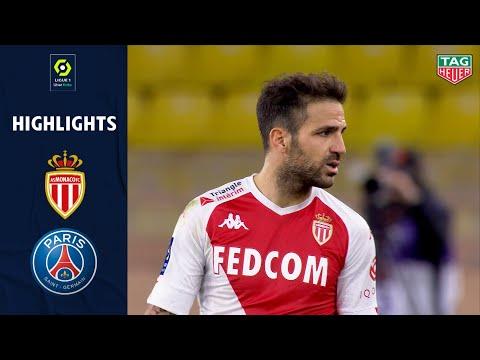 AS MONACO - PARIS SAINT-GERMAIN (3 - 2) - Highlights - (ASM - PSG) / 2020-2021