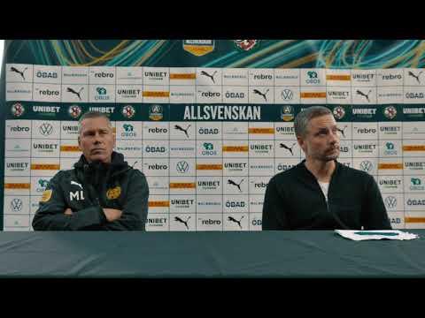 Presskonferens: ÖSK – Mjällby AIF