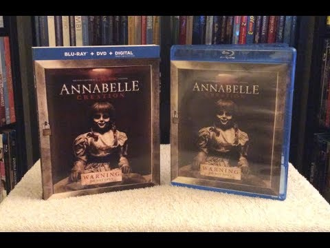 Annabelle: Creation BLU RAY UNBOXING + Review
