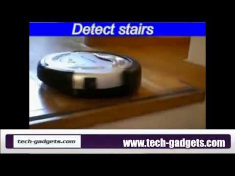 Tech-Gadget Intelligent Robotic Vacuum Cleaner