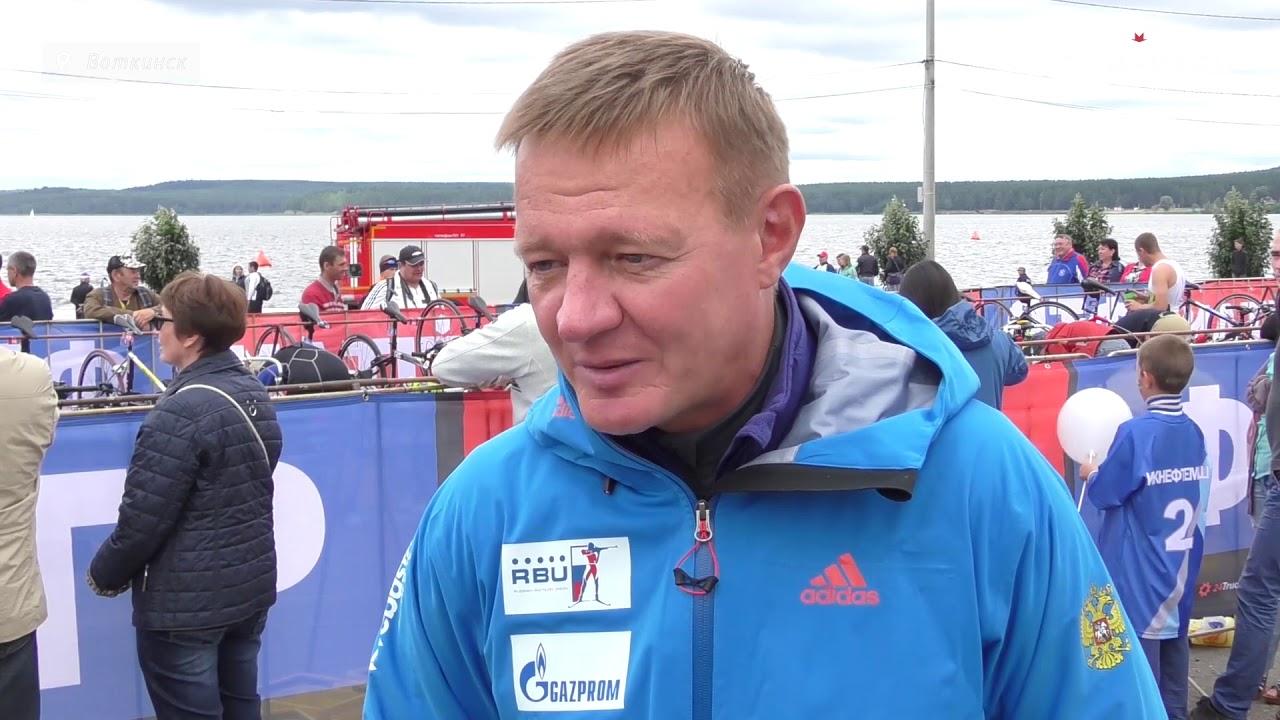 Соревнования по триатлону TITAN в Воткинске