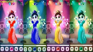Colors Reaction Compilation My Talking Angela Great Makeover new update new room dance studio