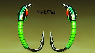 Fly Tying a Traffic Light Buzzers / Chironomid by Mak