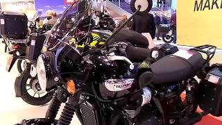 4. 2019 Triumph Bonneville T100 Black Complete Accs Series Lookaround Le Moto Around The World