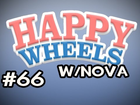 Happy Wheels w/Nova Ep.66 - The Worst 4-Way Ever Video
