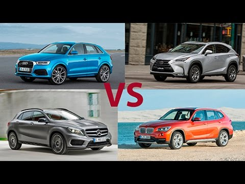 Lexus NX vs Mercedes GLA vs BMW X1 vs Audi Q3 - сравнительный тест!