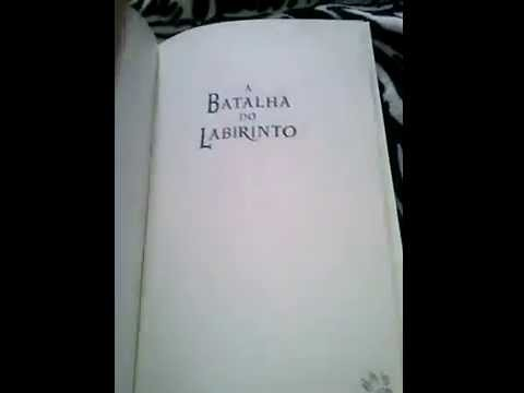 Review Livro a batalha do labirinto -edi. Intrínseca