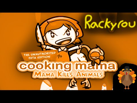 "Rackyrou Play's ""Cooking Mama Kills Animals"" PC"