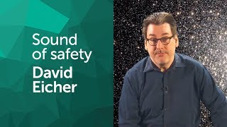 Starmus board member David Eicher, editor in chief of the astronomy magazine takes you into space for his Sound of Safety. What sound do you associate with safety? We asked 10 DJs around the world to produce a #MySoundOfSafety track for the Starmus 2017 Festival. See and hear more at www.sound-of-safety.com.