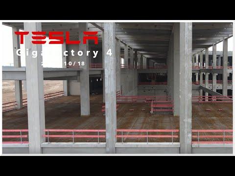 #4a Tesla Gigafactory 4 Berlin  Brandenburg • 2020-10-18 Grünheide • HD | DJI Mavic Air 2