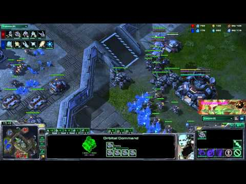 IMMVP - If you watch closely, there's a Starcraft 2 game being played during my ranting about the