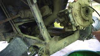 5. 08 Polaris Ranger Front diff removal