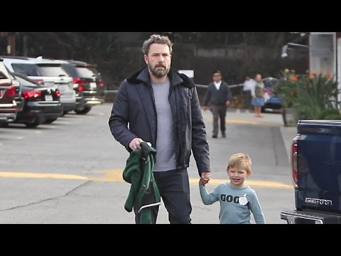 Ben Affleck Looking Exhausted During Morning Outing With Son Samuel