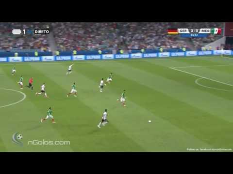 Germany vs Mexico 1 - 0 - Goretzka 5