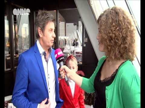 Maureen op de albumvoorstelling van Willy Sommers in Oostende