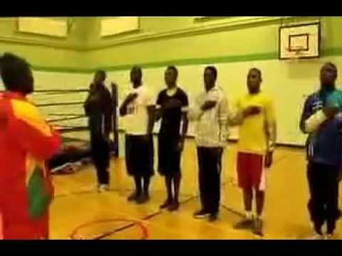 2014 Commonwealth Games: Ghanaian boxers sing national anthem before training sessions