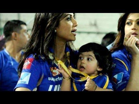 Shilpa Shetty's son Viaan Kundra's IPL 6 debut!