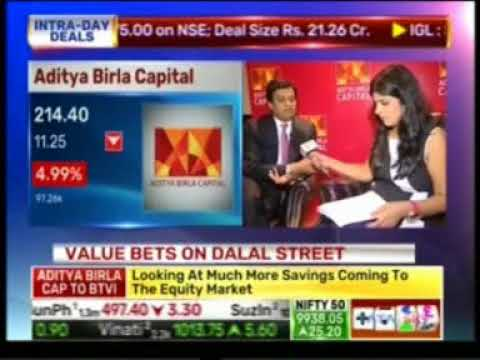 03 BTVI Trending Today 05 Sept 2017 05min 03sec Mr  Ajay Srinivasan   CEO, Aditya Birla Capital 1