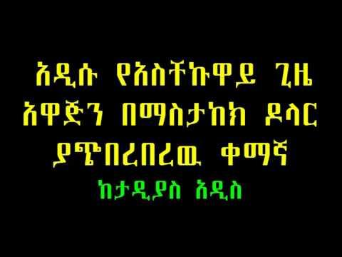 Taddias Addis አዲሱ የአስቸኩዋይ ጊዜ አዋጅን በማስታከክ ዶላር ያጭበረበረዉ ቀማኛ