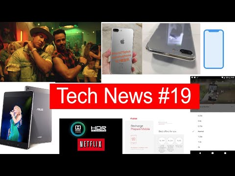 Tech News #19 iPhone 8 Specs, iPhone 7s & 7s Plus Leaks, Asus Zenpad Z8s, Apple TV 4k + HDR10