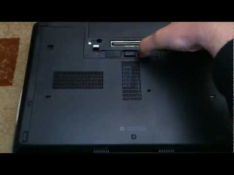 How to open an HP Probook 6460b for cleaning and upgrade