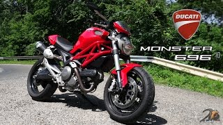 10. Ducati Monster 696 bike review/ utcai teszt - 2WheelsEurope HD