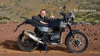 6. Royal Enfield Himalayan European POV Review (Tarmac, Offroad, Highway)