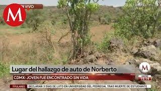 El auto de Norberto Ronquillo se encontró en un lugar sin vigilancia
