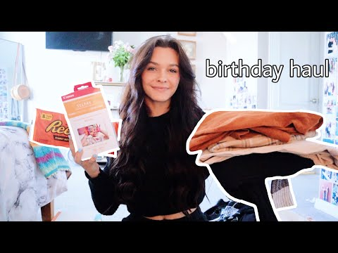 What I got for my 17th birthday *haul*