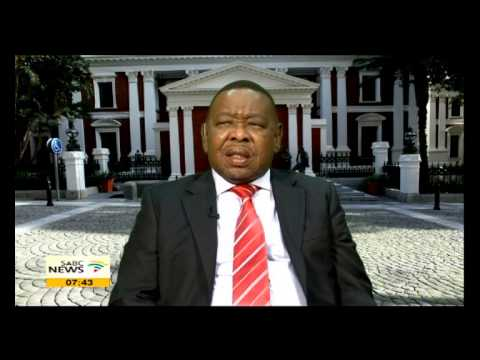 Blade Nzimande on Mandela Day Career Festival