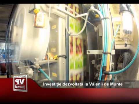 Investiție dezvoltată la Vălenii de Munte