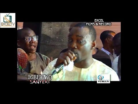 IGBEYAWO SANYERI 3 || Pasuma entertains Sanyeri and his wife Omolara with Fuji Fantasy