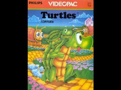 Nr. 49 Turtles | Philips Spielekonsolen | G7000 / G7400 / Videopac / Videopac+
