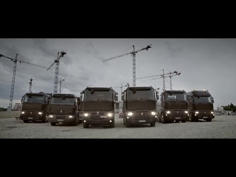 Renault Trucks C: Construction range