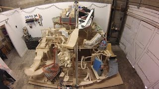 Marble Mountain, a themed marble machine (marble run)