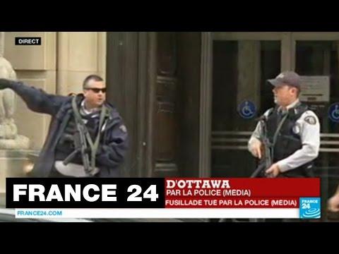 Canada : Fusillade dans le Parlement, 2 morts, 3 blessés dont un député (MàJ : le tireur, un Canadien converti à l'islam)