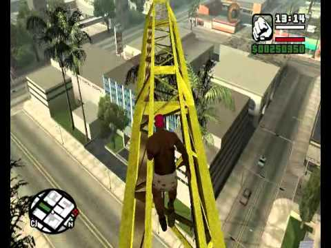 GTA San Andreas Funny Stuff & Epic Fails #1