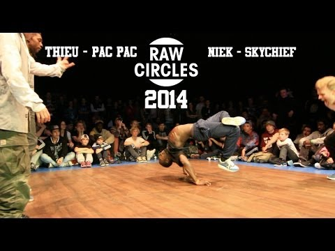 Niek - Subscribe to ProDance right here!: http://bit.ly/SwaLLi Final of Raw Circles 2014 Niek & Skychief (The Ruggeds) vs Thieu & Pac Pac (Bad Trip): Winners: The R...