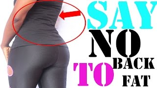 How to Get Rid of Back Fat  Quick & Easy Home Exercises to Get Rid of Bra BulgeDo you want easy exercises for back fat? This video will show you How to Get Rid of Back Fat Quickly with easy at Home exercise moves. Most common back fat exercises on the internet are usually arm related and they tend to make the arms bigger because of the weight used to perform them, but in the video, I showed best exercise for back fat that does require weight in any way. And these workouts will really trim, reduce and even eliminate back fat when you continuously do them for a period of time.I hope you like the video? PLEASE like, subscribe and share the video.Subscribe here: https://www.youtube.com/channel/UCRgJ8GxFbAHM_XGgwVzhYjg?sub_confirmation=1Also, let me know in the comment box below, if you tried any of moves.You should also Connect with me on my social platform Instagram, Facebook, and Twitter with the links below, I will love to hear from you.https://www.instagam.com/abigailekweghi https://www.twiter.com/abigailekweghi https://www.facebook.com/abigailekweghi Email: abigailekweghi@gmail.com Watch Last video How to Get a Wider Hipshttps://www.youtube.com/watch?v=wr66umeX7fc&list=PLkCJ3mTJsKVraLheaZbNfSAmsOT_MCMCO