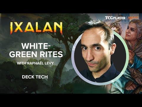 [MTG] White-Green Rites | Deck Tech